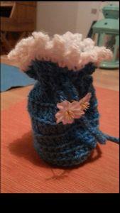 Beutelchen blau-weiß