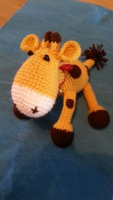 Giraffe f. Maria