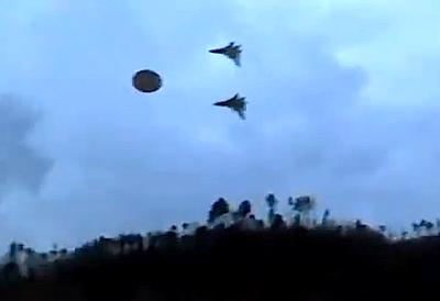Ufo-Jagd