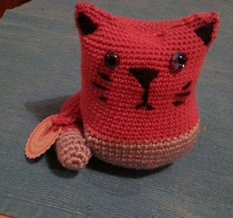 Häkel-Katze für Lillian